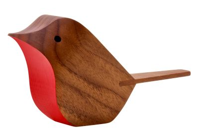 Jacob Pugh Bird Walnut, Red