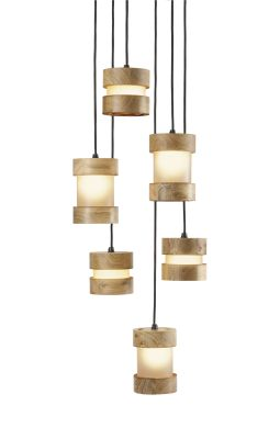Jojo Pendant Cluster Mixed LED Bulbs Included