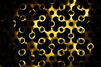 Joyn Gold&SIlver Curtain