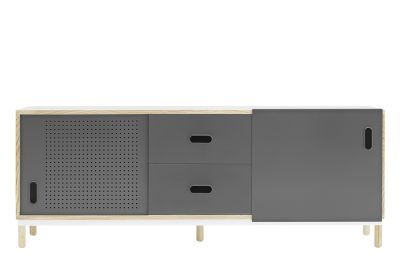 Kabino Sideboard with Drawers Grey