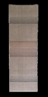 KALAM - hand woven grey runner 75 x 230cm