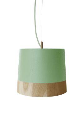 KIKKE & HEBBE Boost Pendant Lamp Wood  Mint