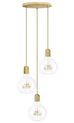 King Edison Trio Pendant Lamp King Edison Trio Pendant Lamp