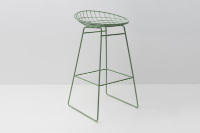 KM07 Bar Stool Pale Green
