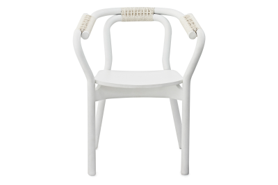 Knot Chair - Ex display White/White
