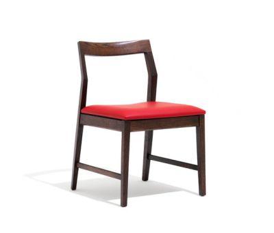 Krusin Side Chair with arms 51.5cm W x 56cm D x 79cm H, Ebonised Oak