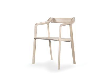 Kundera Armchair Oak Natural