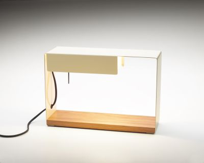 La Discrète Table Lamp Marset - Off White (Ral 1013)