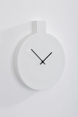 Label, wall clock