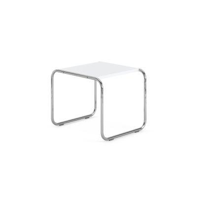 Laccio Side Table - White 55cm W x 48cm D x 45cm H