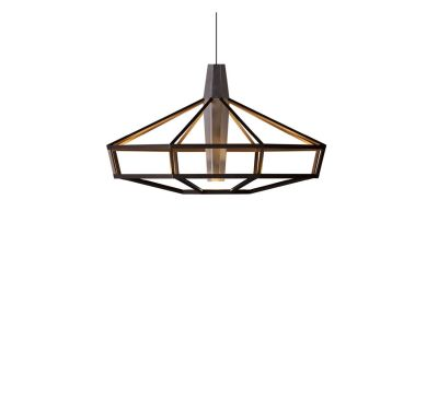 Lampsi Chandelier Brown, 80