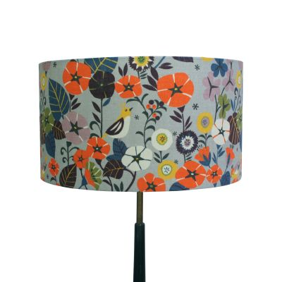 Large Lampshade in Nasturtium Floor / Table