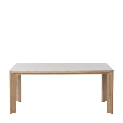 Lastra Rectangular Dining Table Mushroom