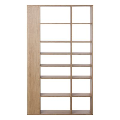 Lato Tall Shelving Unit Oak