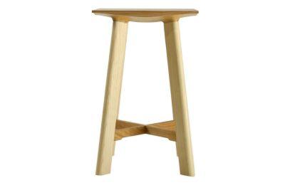 LE1 Low Stool Ash Legs, Cherry Seat