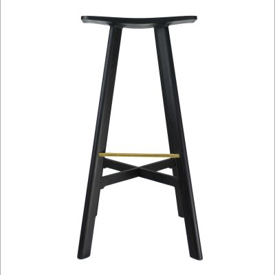 LE2 Winged Bar Stool stained ash