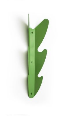 Leaf Coat Rack Green