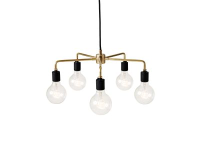 Leonard Chandelier Brass