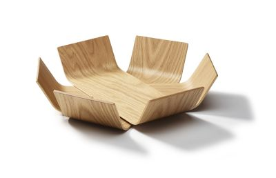 Lily Bowl  Oak, Medium