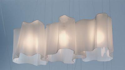 Logico Pendant Light 3 in linea White