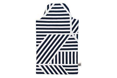 Loha Hot Water Bottle Cover Navy