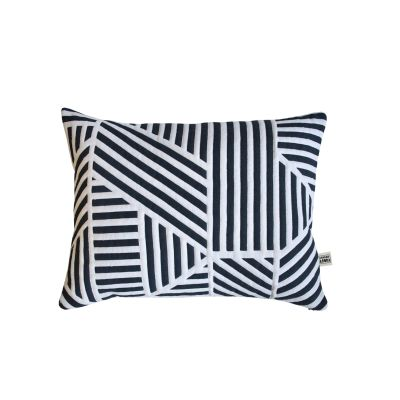 Loha Quilted Cushion Loha Quilted Cushion Navy