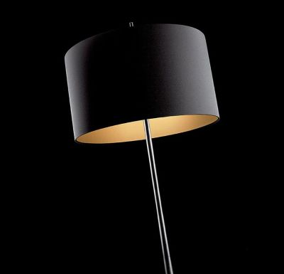 Lola Floor Lamp Black/Gold