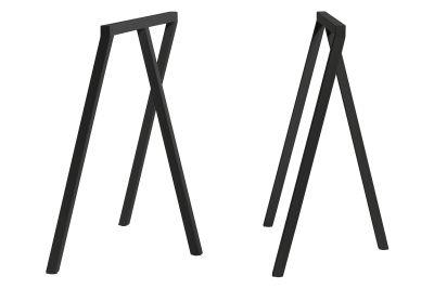 Loop Stand Frame - Set of 2 Black, Low