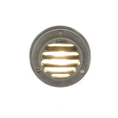Low Voltage Step Light 7567 Weathered Brass