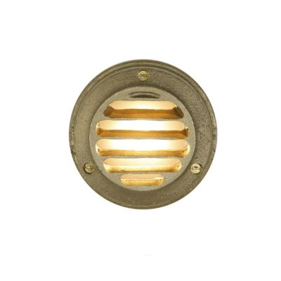 Low Voltage Step Light 7567 Brass