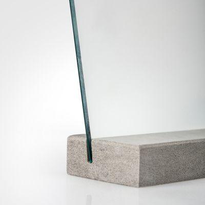 M22 Mirror Concrete Grey