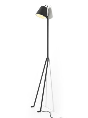 Mañana Floor Lamp Dark grey