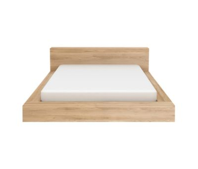 Madra Bed Oak, 153 x 203 x 71 cm - US Queen size, without slats
