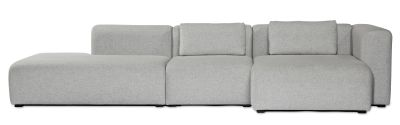 Mags Lounge Modular Seating Element 9301 - Left Divina Melange 2 120