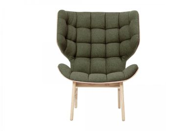 Mammoth Fluffy Chair Forest Wool