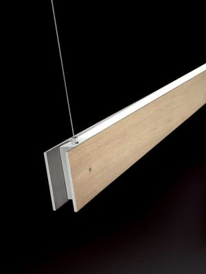 Marc Dos Suspension Lamp Oak, 2L, Fluorescent, Yes, 250