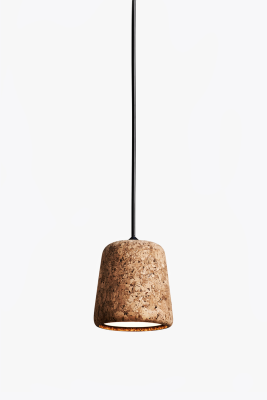 Material Pendant Light Mixed Cork