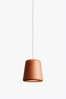Material Pendant Light Terracotta