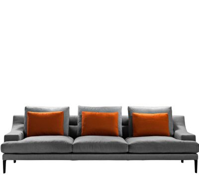Megara Four-Seater Sofa Cairo - Bianco 01