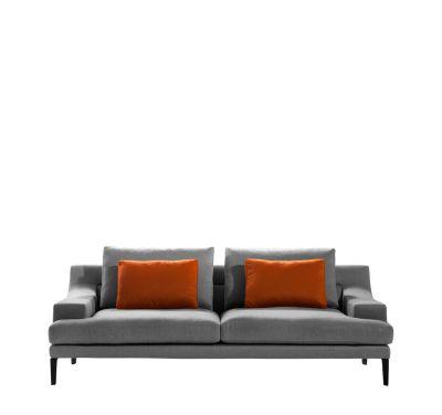Megara Three-Seater Sofa Cairo - Bianco 01