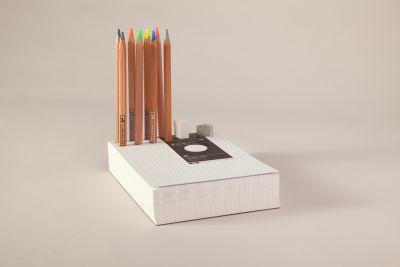 Memo Pad & Organizer Colour Pencils