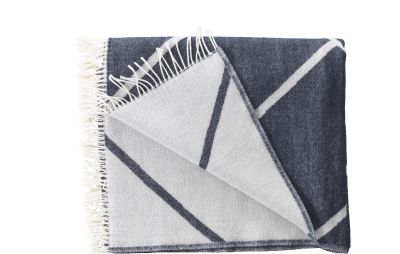 Mesch Throw - Set of 2 Navy