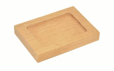 Mezza Soap Dish Natural Oak