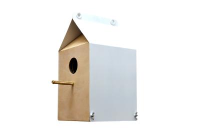 Milk Carton Inspired Birdhouse