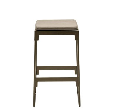 MINGX - Outdoor High Stool Black