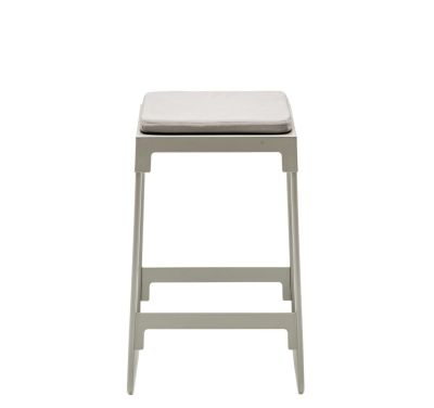 MINGX - Outdoor Low Stool Orange