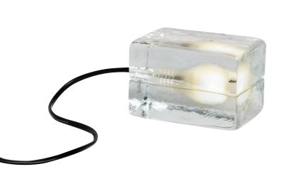 Mini Block Lamp - set of 4 Black cord