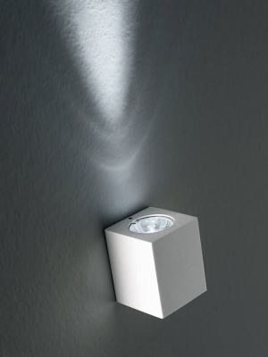Miniblok Wall Lamp 5 Satin Silver