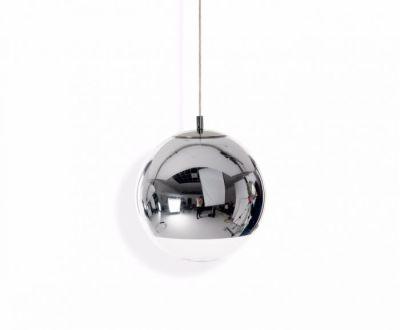 Mirror Ball Pendant Light Silver, 25cm