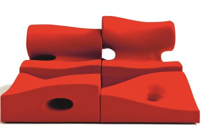 Misfits Seating System - Central 2 B0211 - Leather Oil cirè